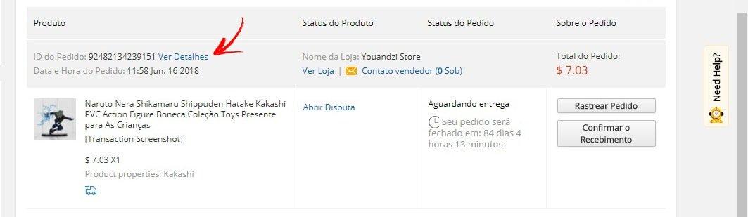 405527aaa AliExpress Standard Shipping  Como rastrear no correio do Brasil