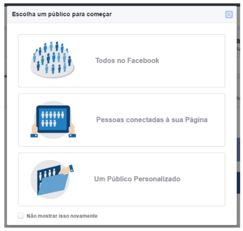 escolha de publicos no facebook audience insights