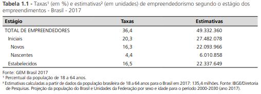 empreendedores no brasil